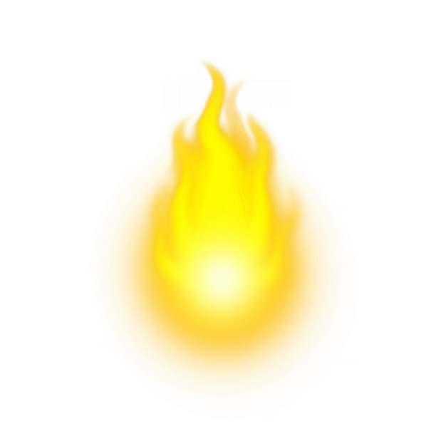 黄色的火苗火焰效果2321749png图片素材