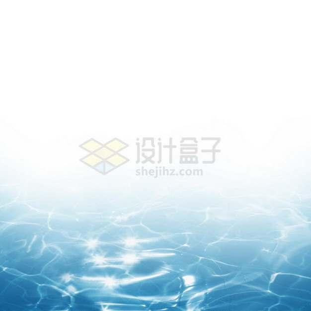 夏天的热带蓝色水面效果0898493png图片素材