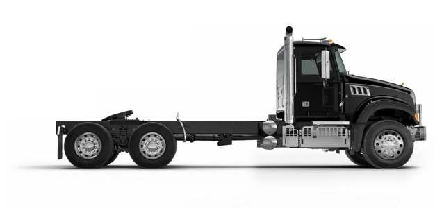 黑色卡车头拖车708835png图片素材