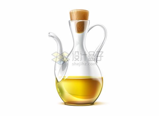 好看的油壶玻璃瓶png图片矢量图素材