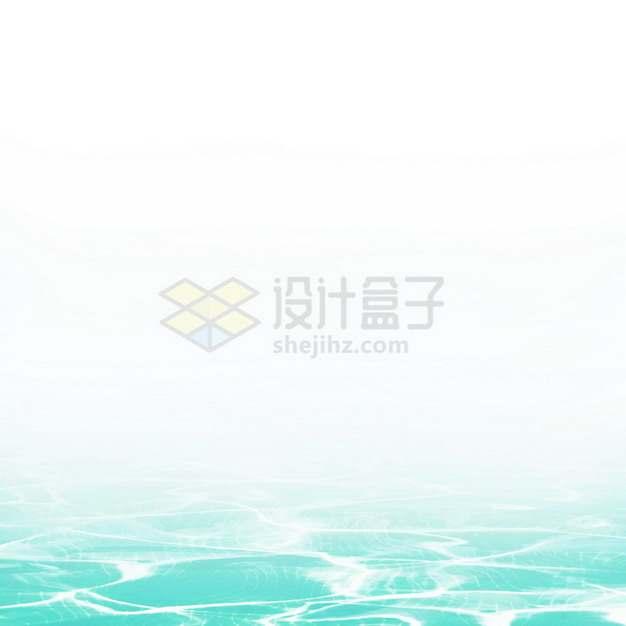 夏天的热带蓝色水面效果8431084png图片素材