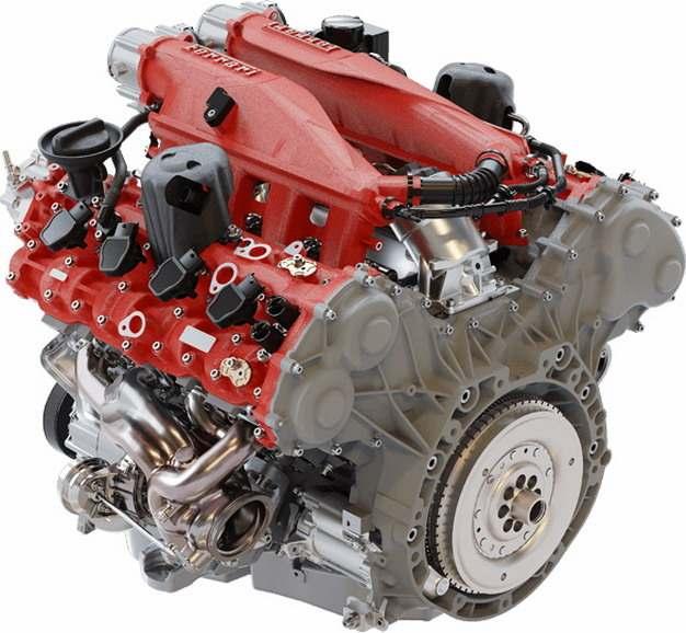 红色银色汽车发动机结构图1058042png图片素材