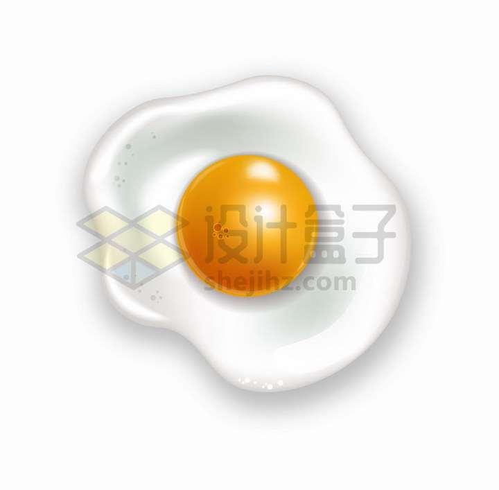 煎鸡蛋美味美食png图片免抠矢量素材