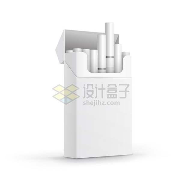 空白香烟盒的白色香烟962705png图片素材