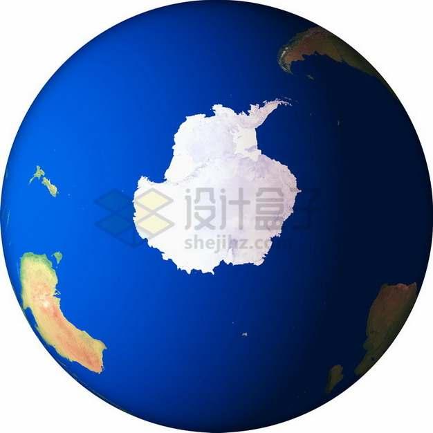 高清地球定位在南极大陆png免抠图片素材