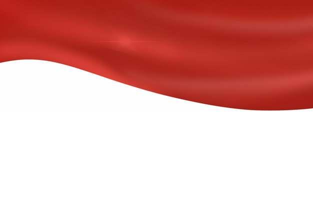 飘扬的红色绸缎面丝绸红旗装饰965342png图片素材