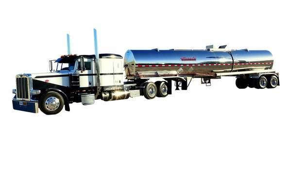 加长型槽罐车油罐车危险品运输卡车特种运输车953534png图片素材