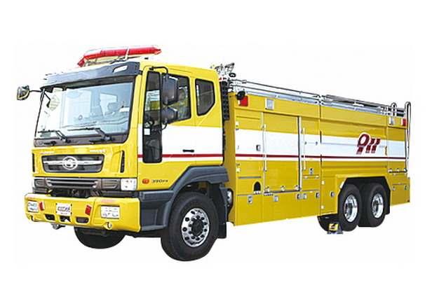 黄色消防车199076png图片素材