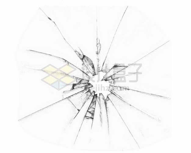 玻璃破碎裂纹裂缝碎片2218797png图片素材