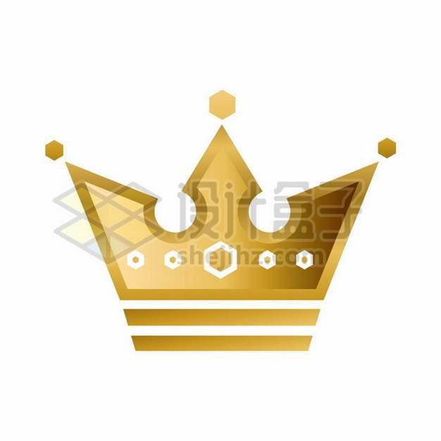 金色皇冠图案png图片素材430454