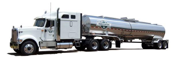 一辆银色的槽罐车油罐车危险品运输卡车179911png图片素材