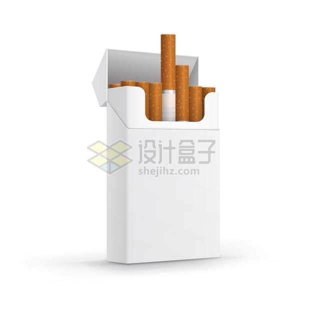 空白香烟盒的普通香烟315560png图片素材