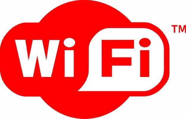 红色免费wifi标志png图片素材434576