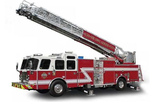 消防车云梯车369643png图片素材