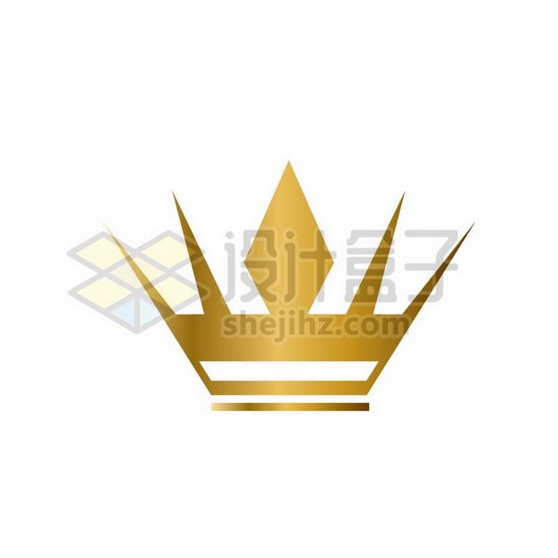 金色皇冠图案png图片素材256091 装饰素材-第1张