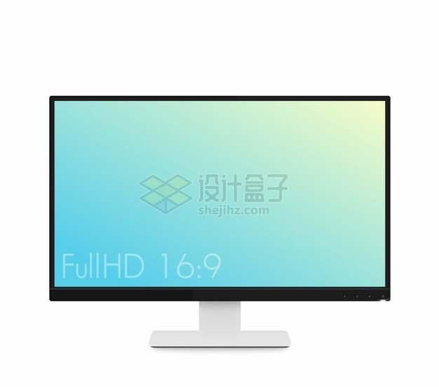 窄边框的超薄液晶电视机显示器798942png图片素材