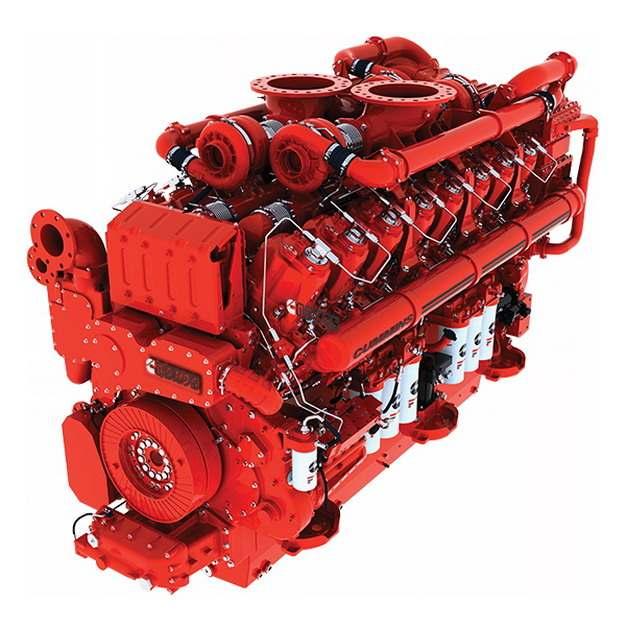 红色柴油发动机8872222png图片素材