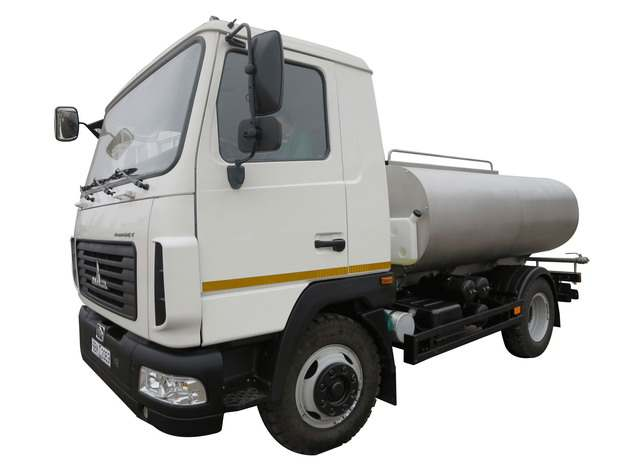 小型的白色槽罐车油罐车危险品运输卡车705794png图片素材
