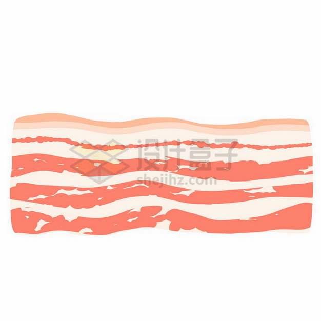 漂亮纹路的五花肉873291png免抠图片素材