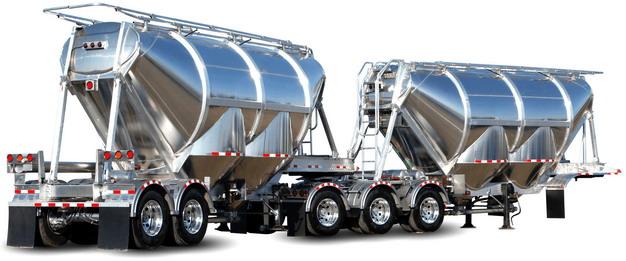 分体式槽罐车油罐车危险品运输卡车拖车648751png图片素材 交通运输-第1张