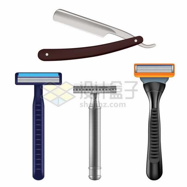 手工剃须刀和刮胡刀661110png图片素材