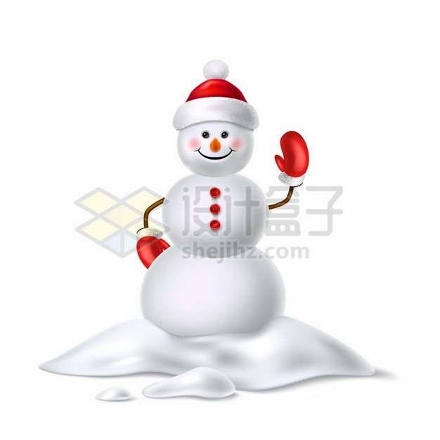 3D立体卡通雪人970177png图片素材