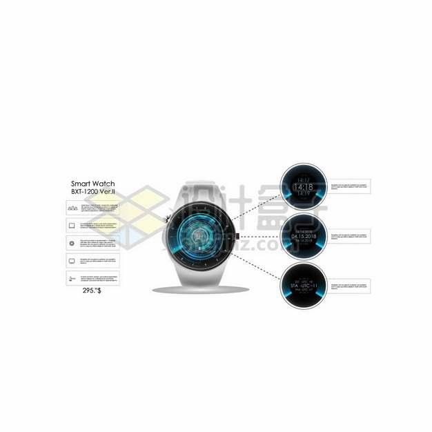 智能手表的显示模式375501png图片素材