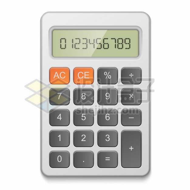逼真的液晶数字科学计算器544639png图片素材