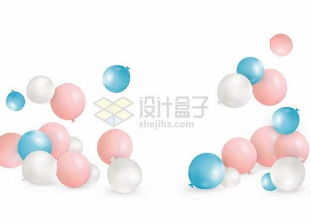 掉落的彩色气球794168png图片素材