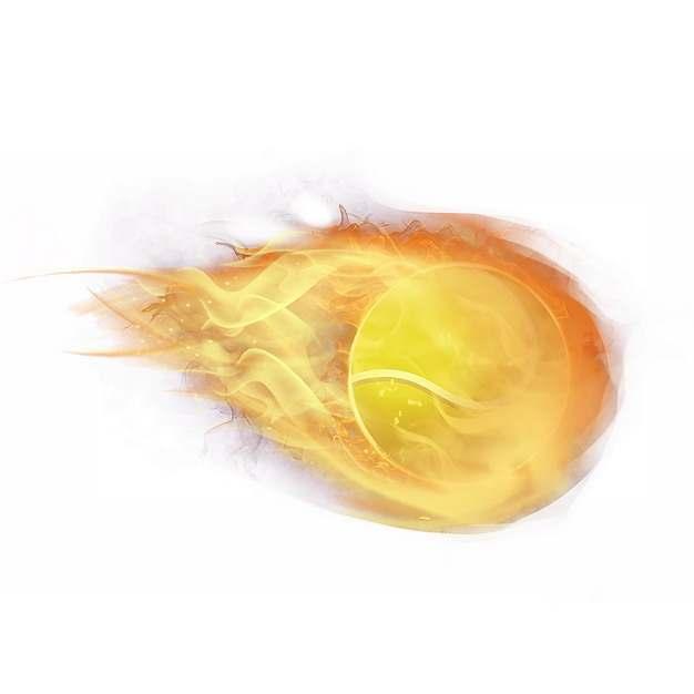 燃烧着火焰的棒球582261png图片素材