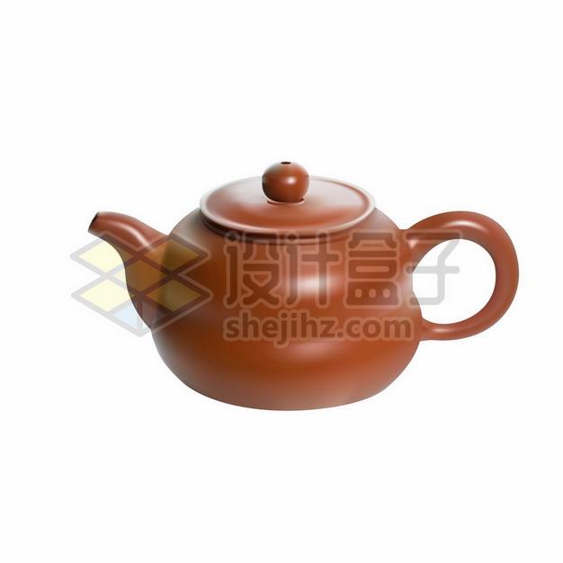 宜兴紫砂壶茶壶614468png矢量图片素材 生活素材-第1张