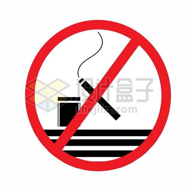 禁止吸烟标志445427png矢量图片素材
