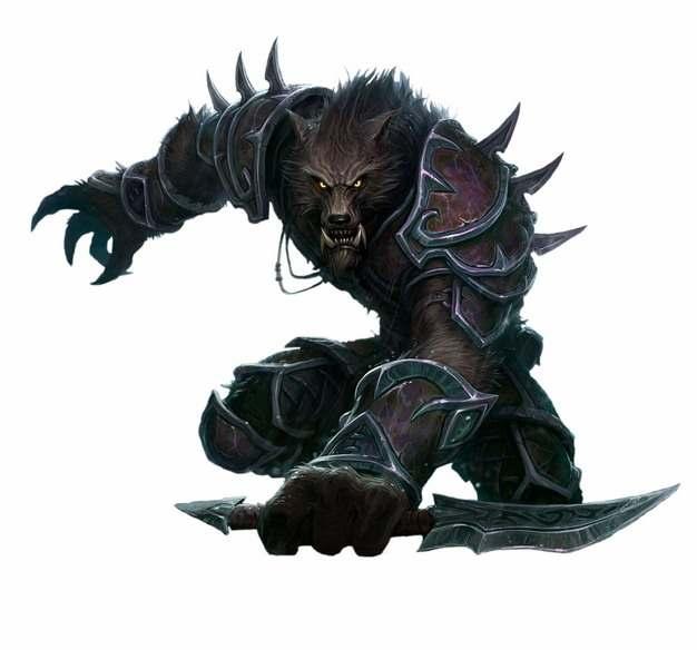 狼人杀全副武装的狼人png图片素材760803