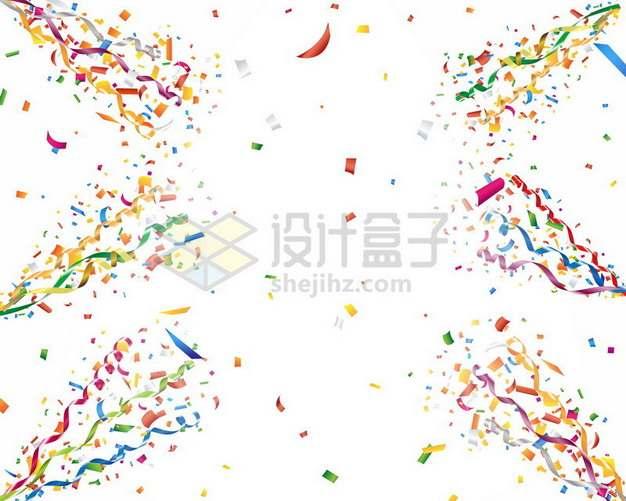 生日礼花筒彩带装饰127241png图片素材
