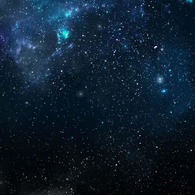 深蓝色夜晚的夜空星空天空867441png图片素材