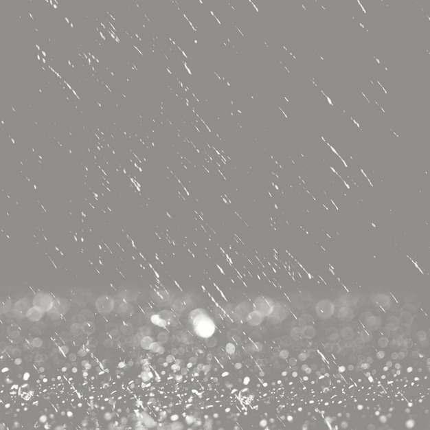 雨水下雨水花效果619453png图片素材
