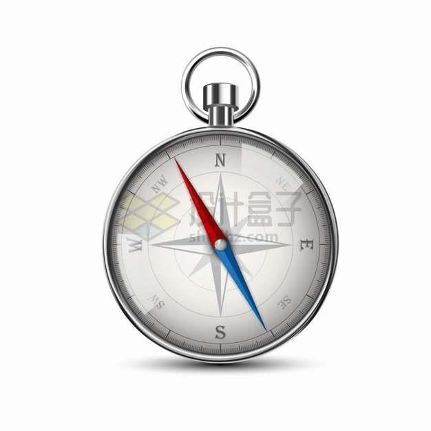 逼真的玻璃表壳指南针指北针png图片素材