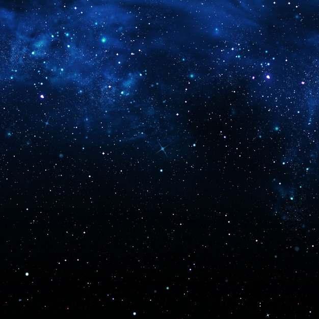 深蓝色夜晚的夜空星空天空199060png图片素材