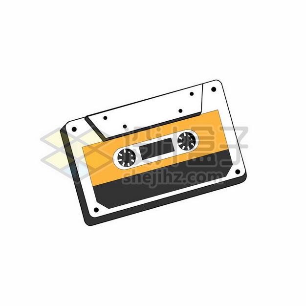 复古磁带音乐插画211551png矢量图片素材 休闲娱乐-第1张