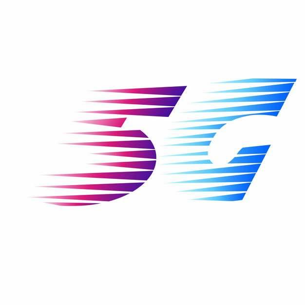 紫色蓝色5G字体399573png图片素材
