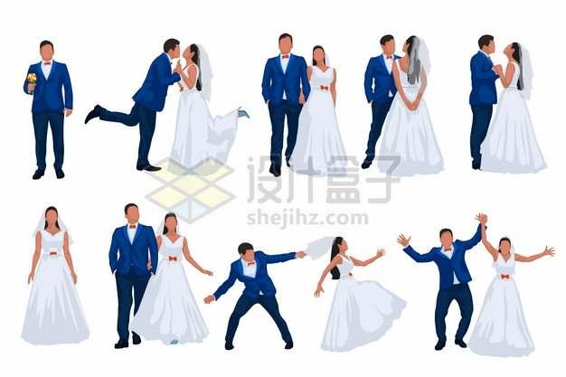 情侣结婚拍婚纱照模仿求婚摆pose集锦181938png矢量图片素材
