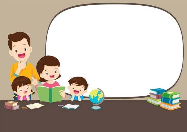卡通老师学生手抄报文本框540754png图片素材