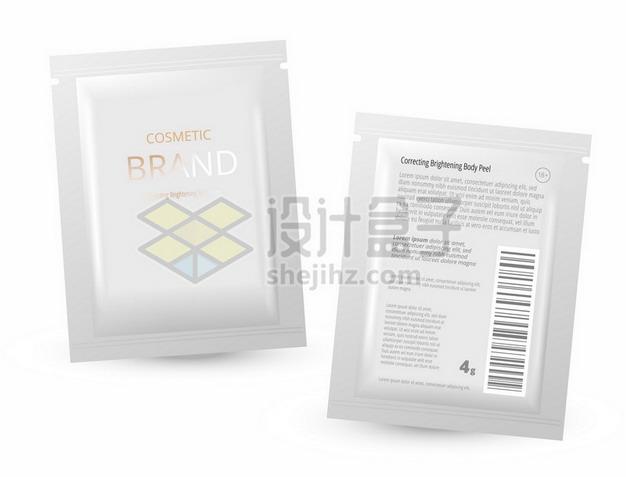 酒店一次性洗发水沐浴露包装袋254153png矢量图片素材 生活素材-第1张