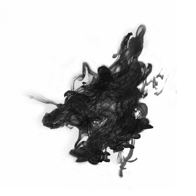 黑色的墨汁烟雾效果286172png图片素材 效果元素-第1张