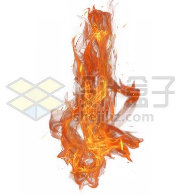 燃烧的火红火焰火苗317742psd/png图片素材