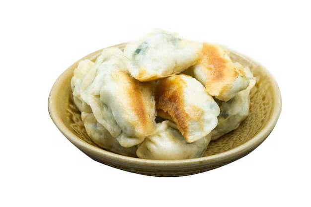 一碗煎饺美味饺子美食537311png图片素材