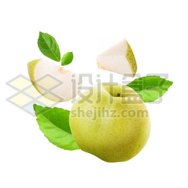 切开的梨子443678psd/png图片素材 生活素材-第1张