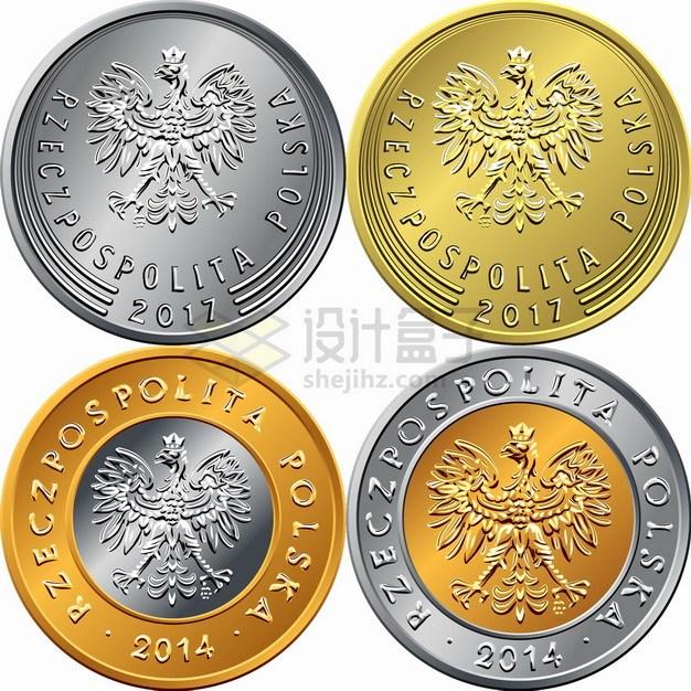 波兰兹罗提硬币货币外国钱币png图片素材 金融理财-第1张