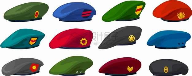 海军空军陆军贝雷帽png图片素材