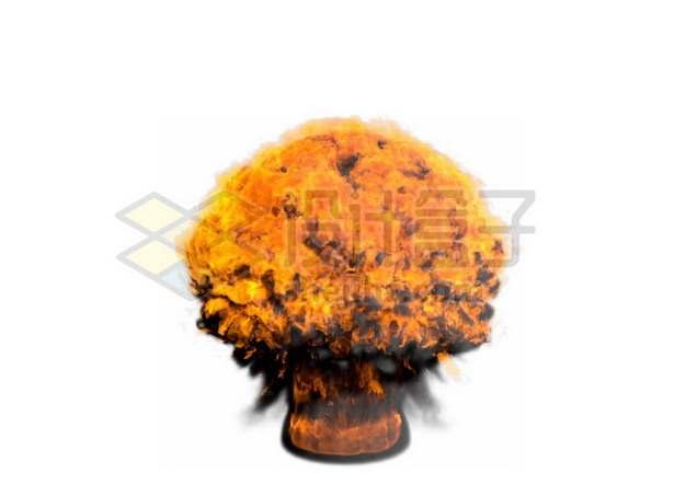 爆炸产生的火球167501psd/png图片素材